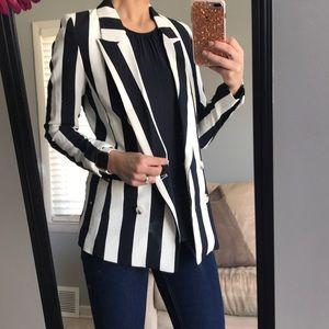Striped H&M Blazer